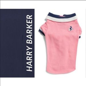 Harry Barker dog polo, NWT, large